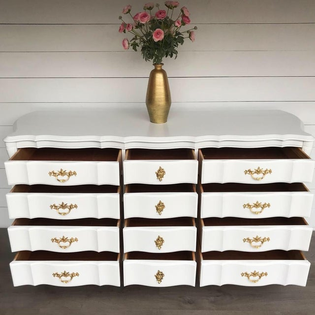 French Provincial 1970s French Provincial Dresser For Sale - Image 3 of 10