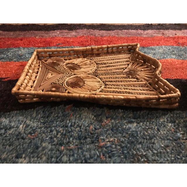 Late 20th Century Vintage Basket Wall Decor - Set of 3 For Sale - Image 5 of 7