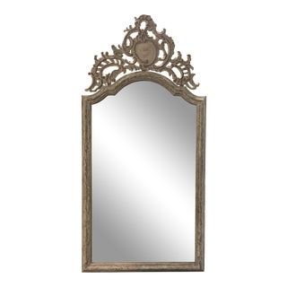 Restoration Hardware Tara Shaw Maison Grande Louis XIV Floor Mirror For Sale