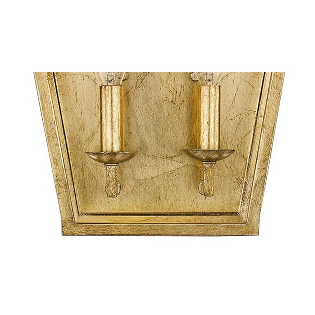 2010s Ponce City 2 Light Sconce, Gilded Gold For Sale - Image 5 of 8