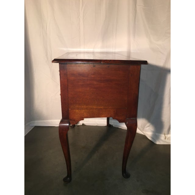 18th c english cabriole side table chairish for Table th width