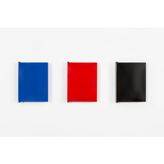Set of Les Arcs Enameled Steel Wall Cabinets by Charlotte Perriand