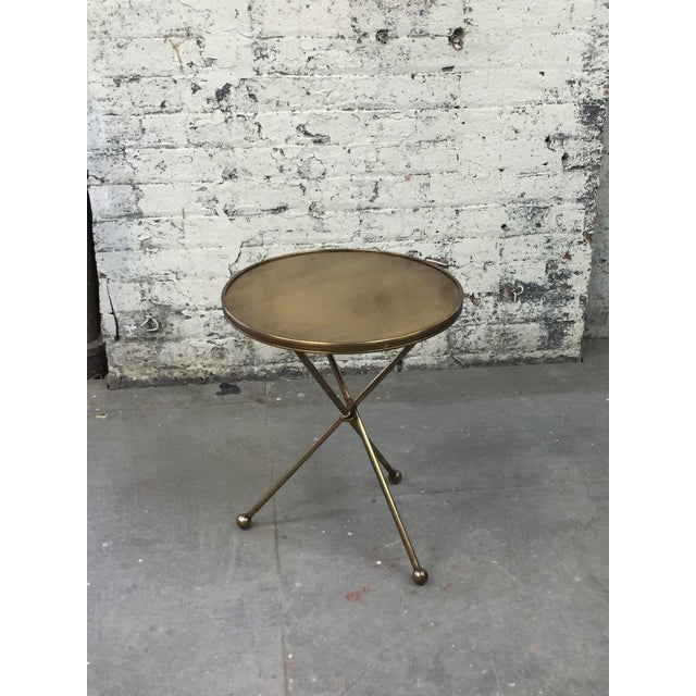 1940s Folding Campaign Table For Sale - Image 5 of 8