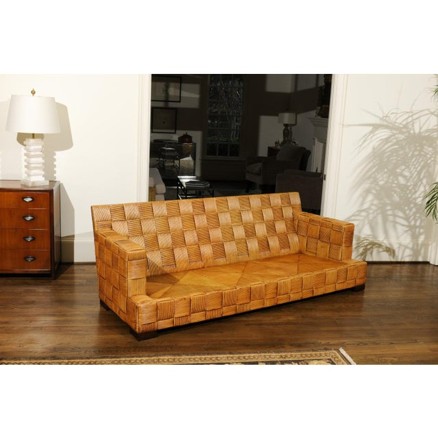 Stunning Block Island Collection Sofa by John Hutton for Donghia, circa 1995 For Sale - Image 9 of 11