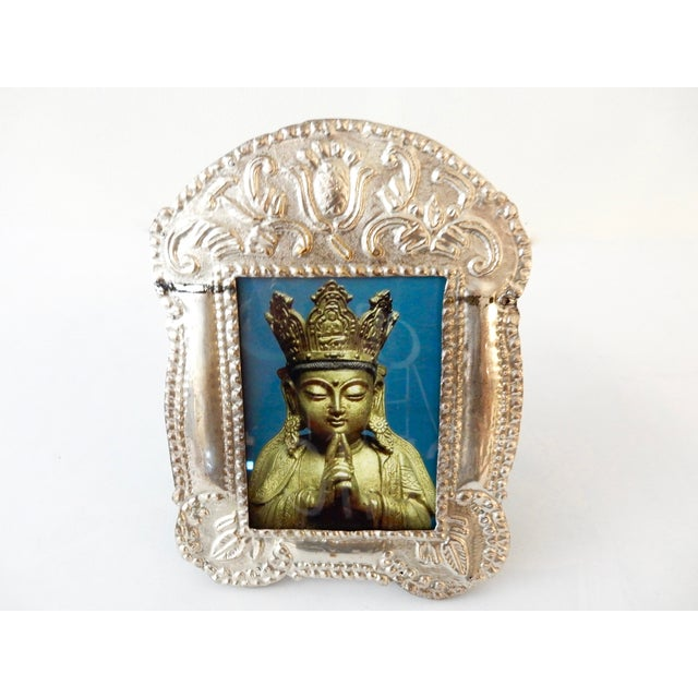 Colonial Style Silver Picture Frame - Image 6 of 8