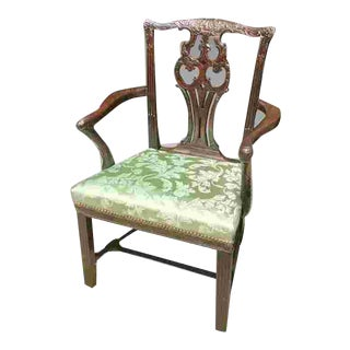 18th C. British Chippendale Chair For Sale