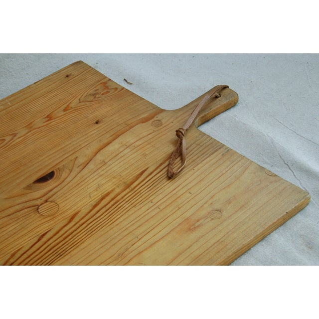 1920s Large French Harvest Bread Cheese Board - Image 8 of 8