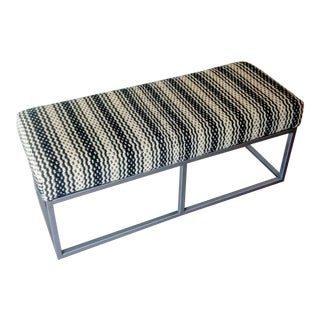 Gambrell Renard Kilim Wool Bench For Sale