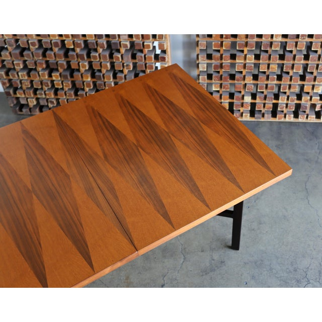 1960s 1960s Mid-Century Modern Milo Baughman Dining Table for Directional Furniture For Sale - Image 5 of 13