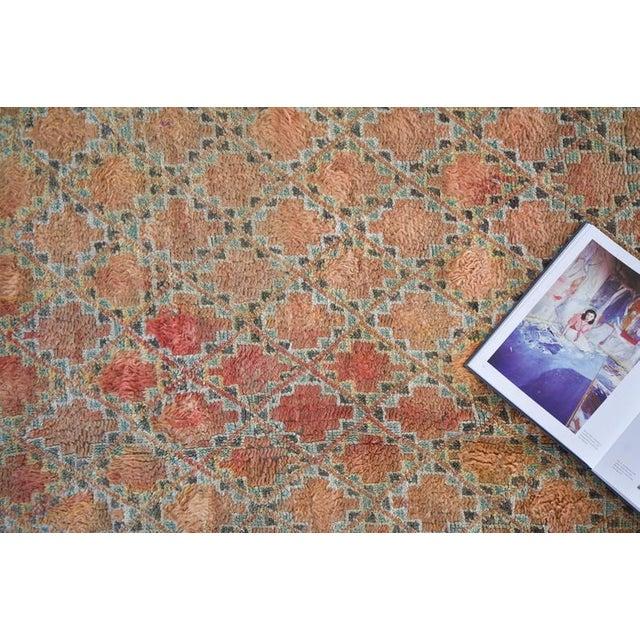 1980s Beni Mguild Vintage Moroccan Rug - 6′3″ × 9′5″ For Sale - Image 5 of 9