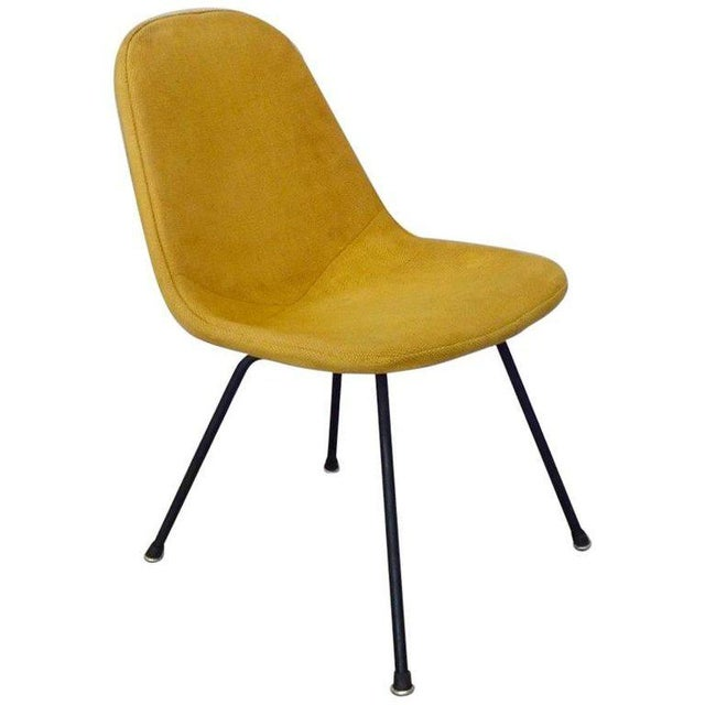 Eames Herman Miller Dkr Chair on Early Production Low X-Base For Sale In Detroit - Image 6 of 6