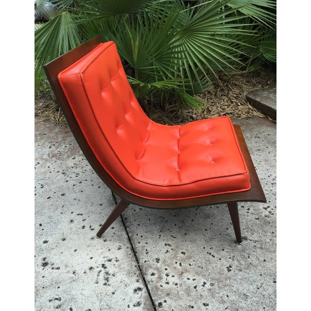 "Mid Century Modern ""Scoop"" Chair - Image 3 of 10"