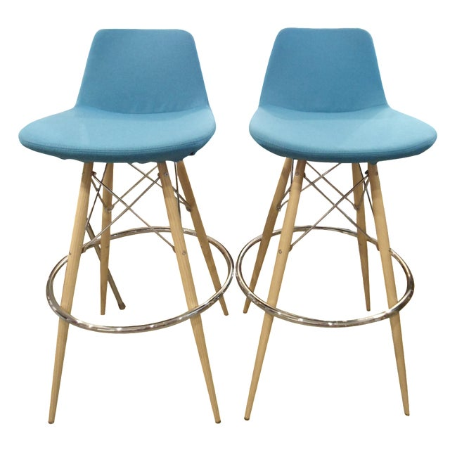 Pera MV Barstool by SohoConcept Furniture - A Pair - Image 1 of 8