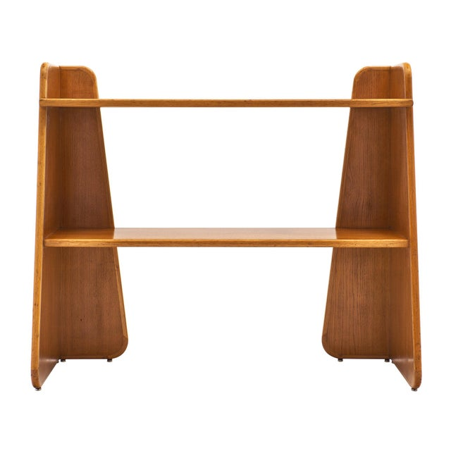 French Modernist Oak Console For Sale - Image 9 of 10