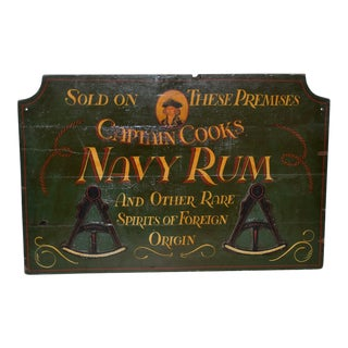 Late 19th Century British Pub Sign For Sale