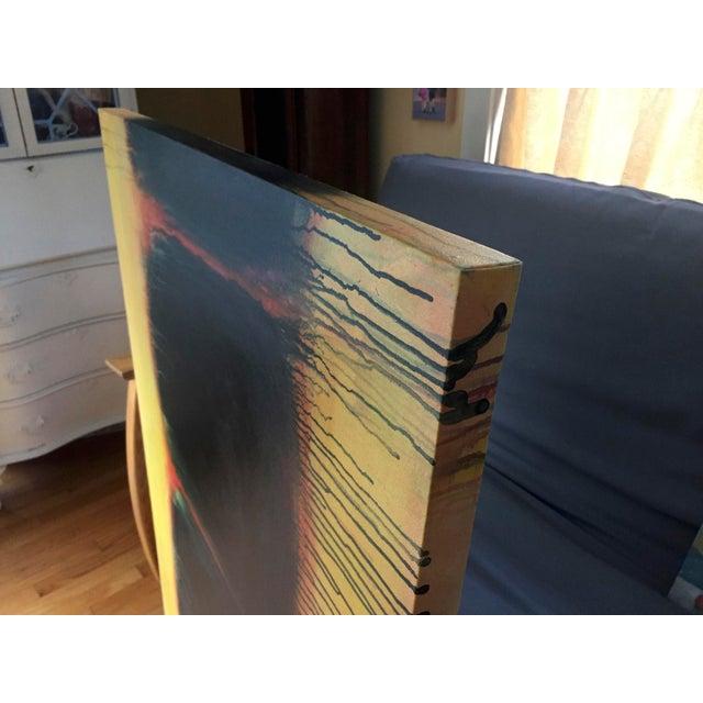 "Stephen Remick ""Yellow Sunset"", Contemporary Abstract Painting by Stephen Remick For Sale - Image 4 of 9"