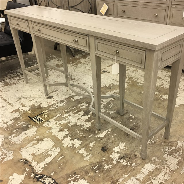 Bernhardt 3-Drawer Console Table - Image 3 of 6