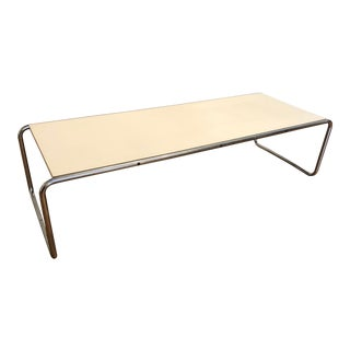 Original, Vintage Laccio Coffee Table, Designed by Marcel Breuer and Produced by Gavina in Italy For Sale
