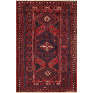 Pasargad Hand-Knotted Persian Rug - 5′8″ × 8′9″