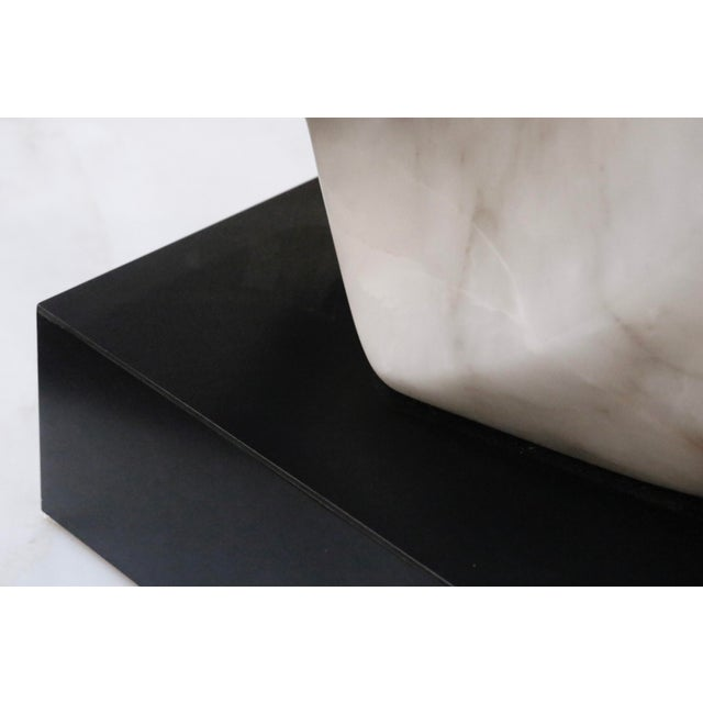 Contemporary Alabaster Sculpture For Sale In New York - Image 6 of 7