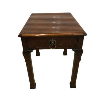 Baker Asian Chippendale Side Table