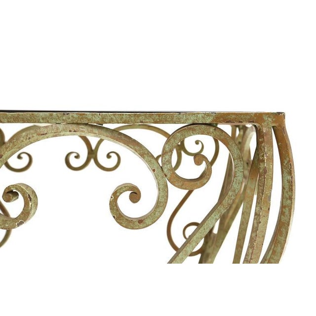 Wrought Iron Coffee Table For Sale - Image 6 of 7