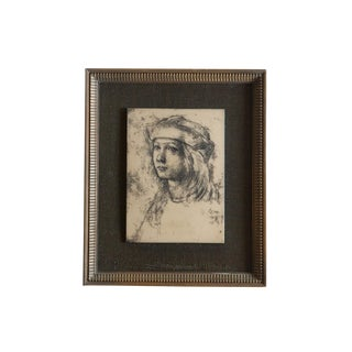 Vintage Artini Engraving For Sale