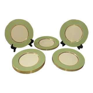20th Century Set of 12 Service Plates by Lenox For Sale
