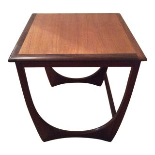 G Plan Mid-Century Danish Teak Side Table For Sale