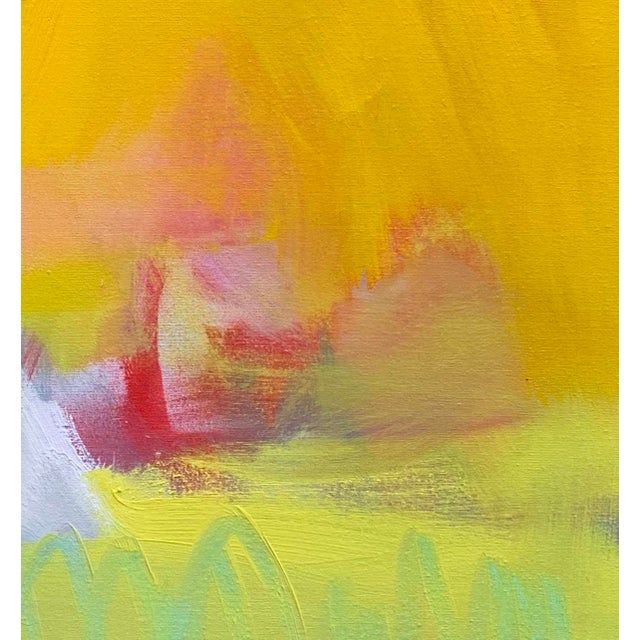 """Abstract """"West Wind"""" by Trixie Pitts Abstract Expressionist Oil Painting For Sale - Image 3 of 13"""