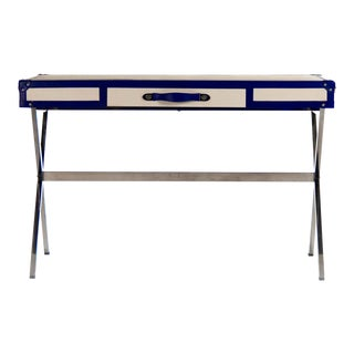 Holt Desk in Blue For Sale