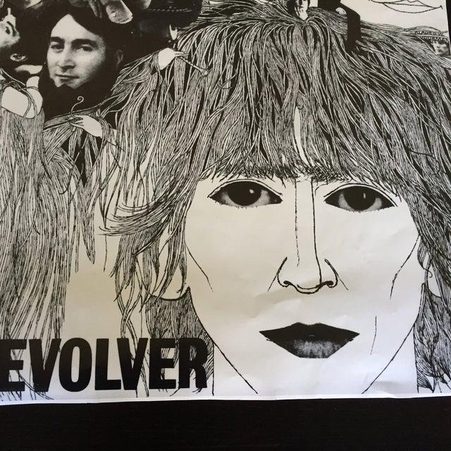 "Vintage Beatles ""Revolver"" Poster For Sale - Image 4 of 7"