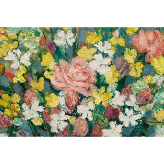 """""""Bouquet Aux Silenes Blancs"""" by Andre Vignoles - Image 5 of 10"""