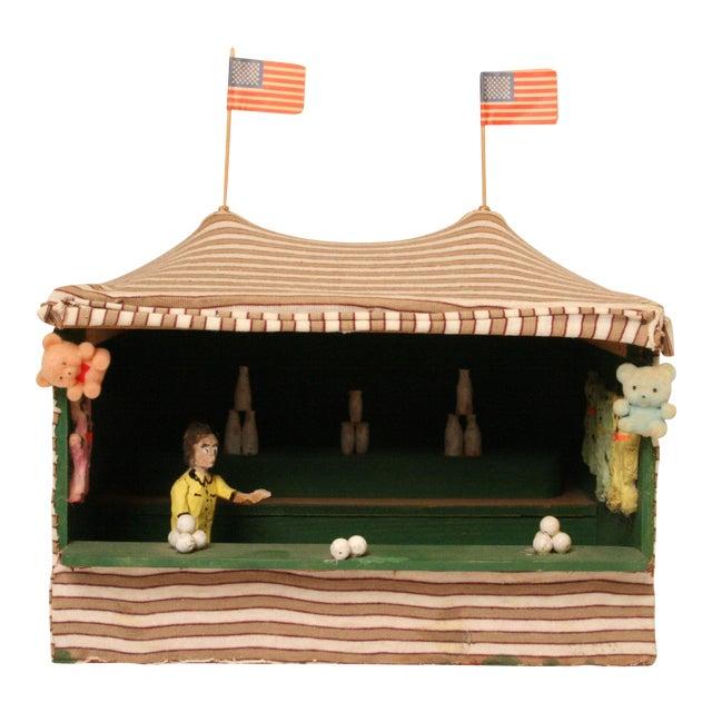 Antique Folk Art Carnival Model - Image 1 of 11