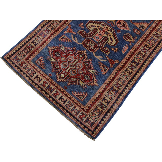 Slyvia Hand-Knotted Wool Rug - 2′7″ × 6′4″ For Sale - Image 4 of 8