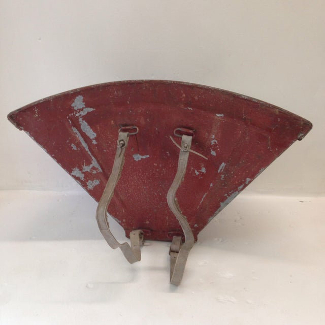 20th Century French Grape Hotte For Sale - Image 4 of 8