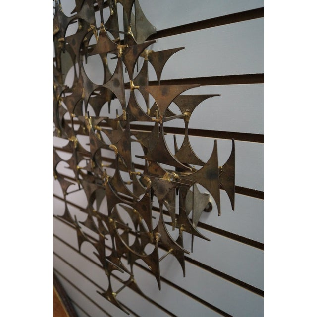 Marc Creates Mid-Century Modern Wall Sculpture For Sale - Image 9 of 10