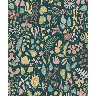 Herbarium Wallpaper by Borastapeter Wallpaper - This Is a Sample For Sale