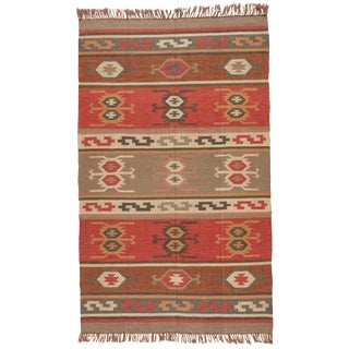 Jaipur Living Thebes Handmade Geometric Multicolor Area Rug - 8′ × 10′ For Sale