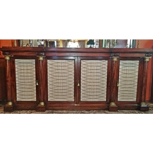 Early 19th Century Early 19c English Chiffonier in the Manner of Gillows For Sale - Image 5 of 13