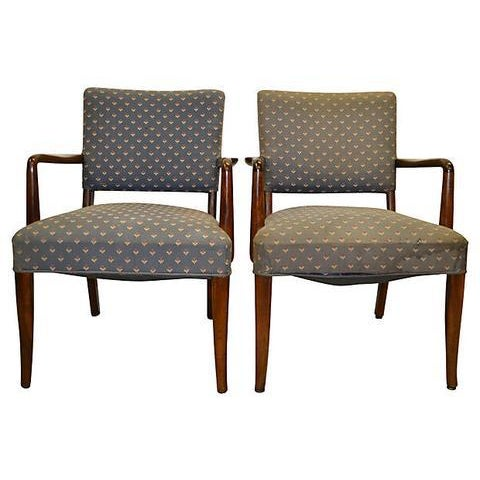 Finn Juhl Danish Armchairs - A Pair For Sale In Boston - Image 6 of 7