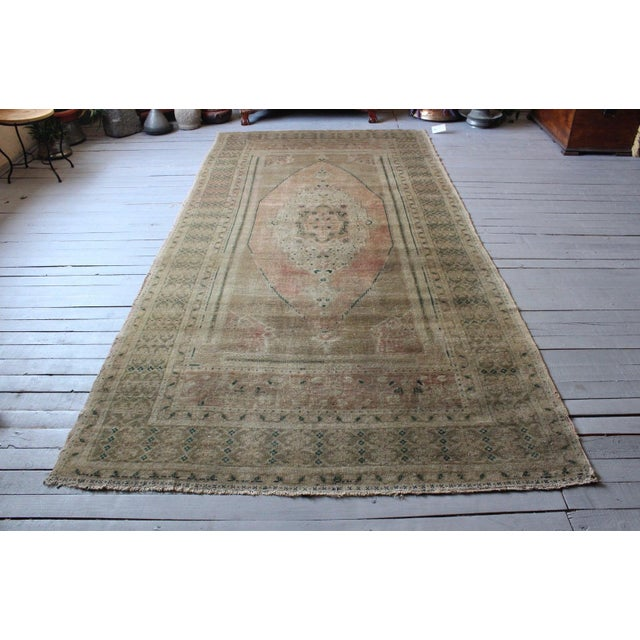 Vintage Hand Knotted Anatolian Rug For Sale - Image 10 of 10