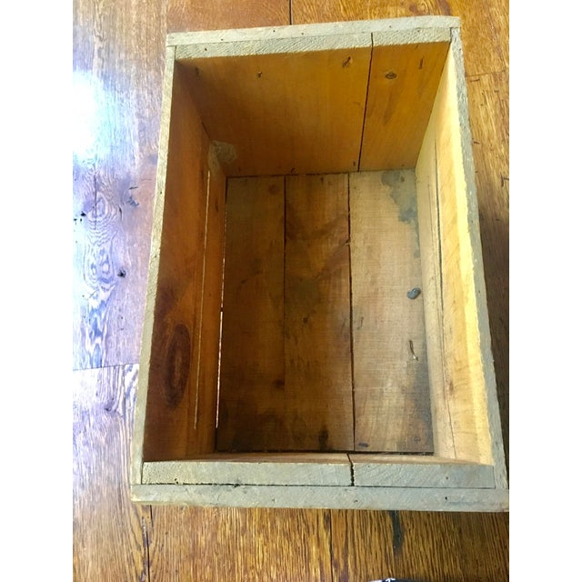 1920s 1920s Cape Cod Cranberry Crate For Sale - Image 5 of 6