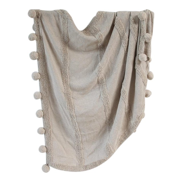 Zenza Boho Nomad Woven Cotton Throw For Sale