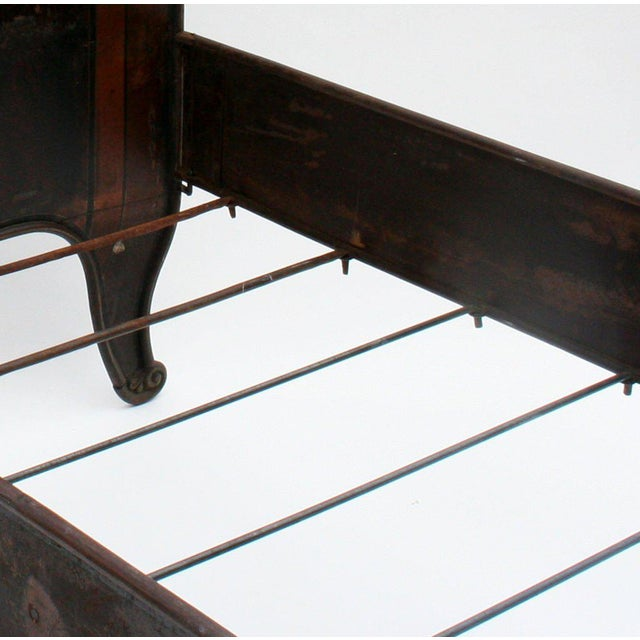 Italian Tole Beds - A Pair For Sale - Image 10 of 10