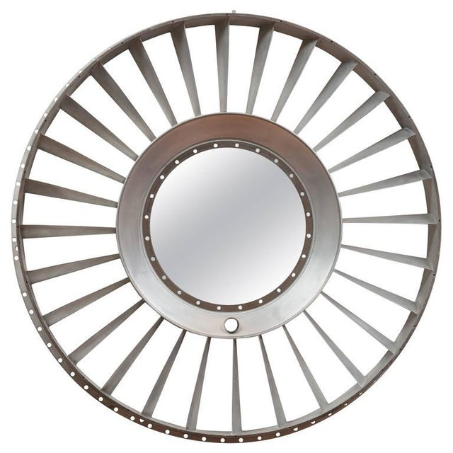 Titanium Jet Engine Mirror For Sale - Image 9 of 9