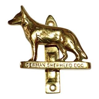 German Shepherd Door Knocker