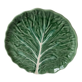 Green Cabbage Olfaire Plate For Sale