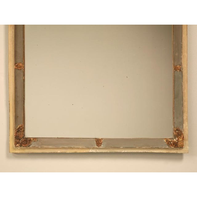 Antique Diamond & Crossed Arrows French Directoire Mirror For Sale - Image 4 of 10