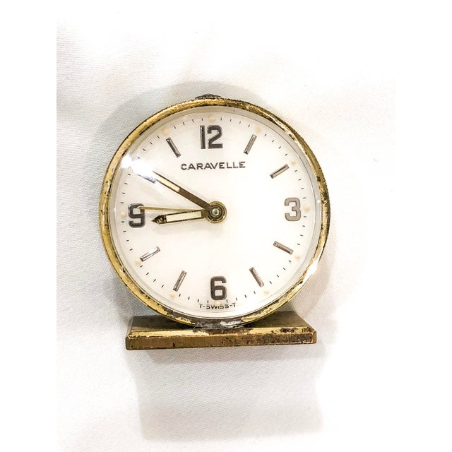 Small Swiss Caravelle Clock - Image 8 of 8